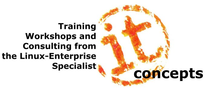 it concepts Liebel - High Level Trainings, Workshops and Consulting from your Linux Enterprise Specialist